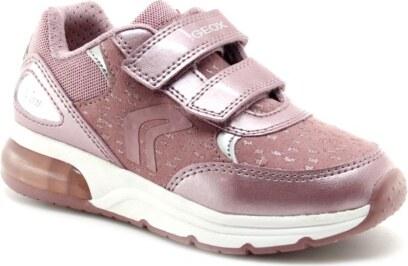 Zapatillas con luces Geox Spaceclub Rosa GLAMI.es