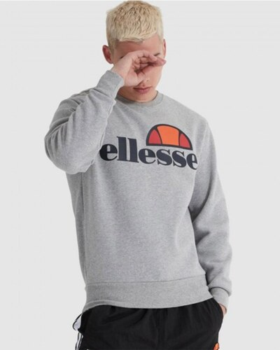 Ellesse Sl Succiso Sweatshirt Grey Marl Xs GLAMI.es