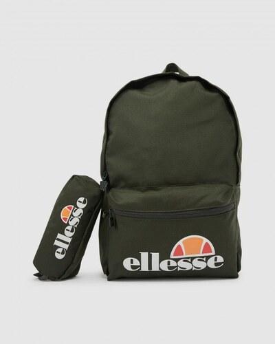 Ellesse Rolby Backpack & Pencil Case Khaki Única GLAMI.es