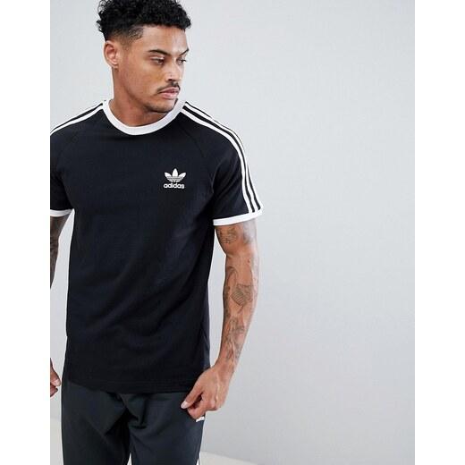 Camiseta negra adicolor California cw1202 de adidas