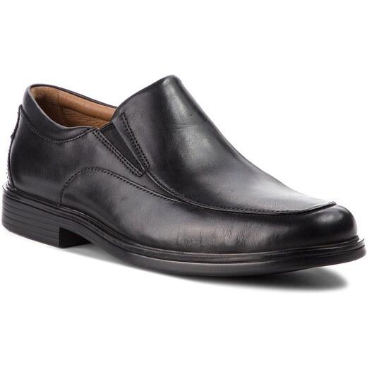 Zapatos CLARKS Un Aldric Walk 261373517 Black Leather