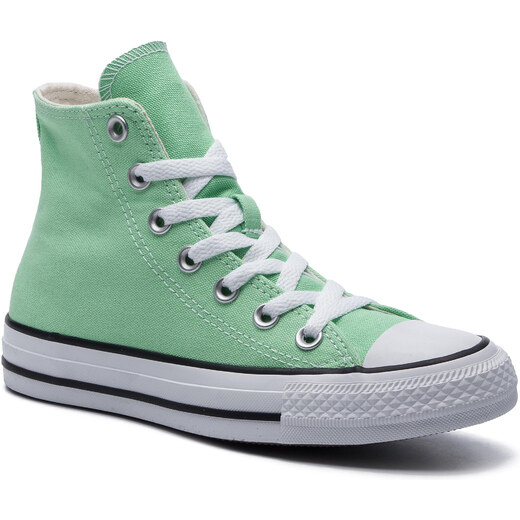 Zapatillas CONVERSE Ctas Hi 164396C Lt Aphid Green Glami.es
