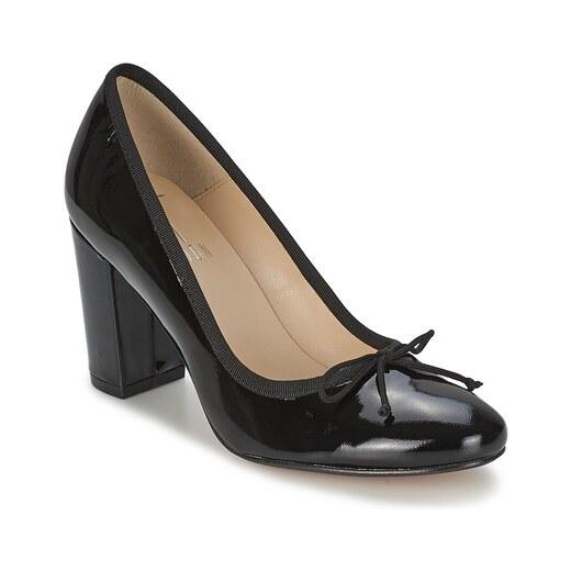 Zapatos R.POLAŃSKI - 0859 Czarny Zamsz - Zapatos de tacón - Zapatos - Zapatos de mujer
