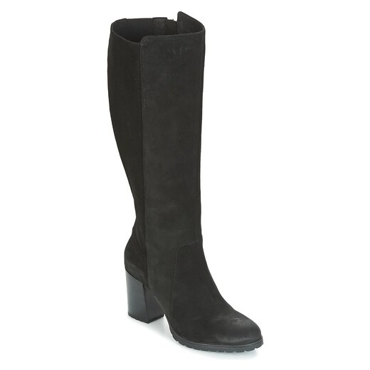 Knee High Boots GEOX D Annya H. E D94AEE 00021 C9999 Black