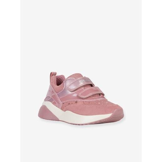 Zapatillas Mid J Sinead Girl B GEOX rosa oscuro liso