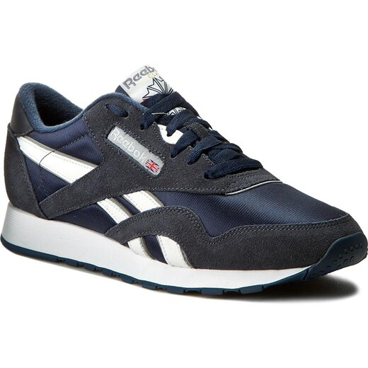 Zapatos Reebok Cl Nylon 39749 Team NavyPlatinum Glami.es