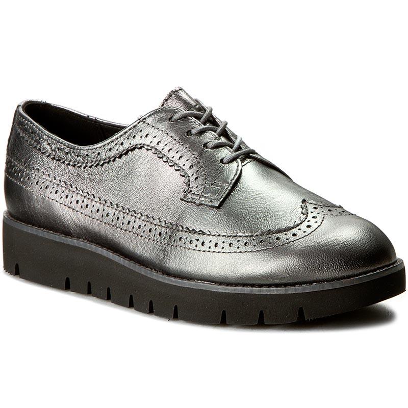 zapatos Oxford GEOX D Blenda C D540BC 000KY C1357 Gun